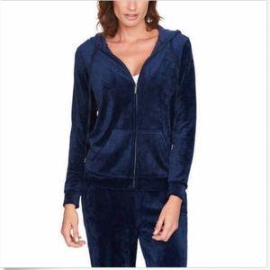 Gloria Vanderbilt Ladies' Ultra Soft Velour Jacket